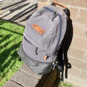 Fossil faded Black Denim Backpack